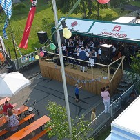Schützenfest in Unterfinningen und Straßenfest in Echenbrunn